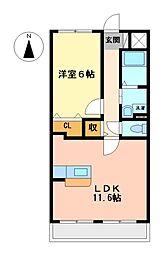 アネックス稲永駅前[5階]の間取り