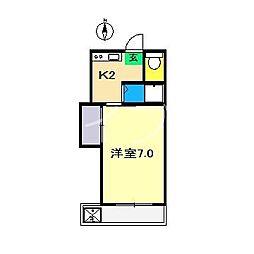 コーポ164[2階]の間取り