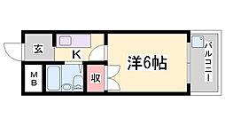 山本ビル[3階]の間取り