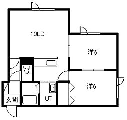 MKマンション[103号室]の間取り
