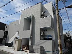 大阪府大阪市住之江区北島1丁目の賃貸アパートの外観