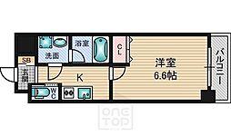 アリビオ江坂垂水町[8階]の間取り