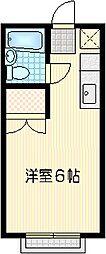 コスモジュン[2階]の間取り