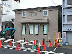 兵庫県西宮市小松南町1丁目の賃貸アパートの外観