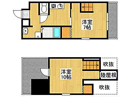 タレイア日本橋[5階]の間取り