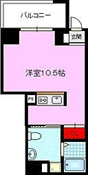 JPレジデンス京橋EAST 5階1Kの間取り