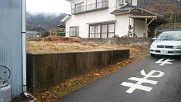 前面道路 幅員約2.5m 車両進入可能です。