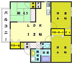 セフィーロ館[2階]の間取り