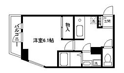maisonKAZ[305号室]の間取り