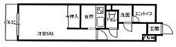 メゾン長喜城[805号室]の間取り