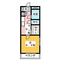 浅野ビル[2階]の間取り