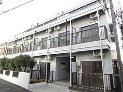 埼玉県新座市栗原5の賃貸マンションの外観