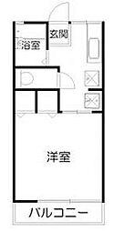 宮城県仙台市太白区富沢3丁目の賃貸アパートの間取り