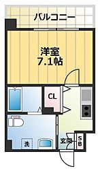JPレジデンス大阪城東II[9階]の間取り