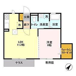comorebi[1階]の間取り