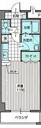 家納喜新宮館[4階]の間取り