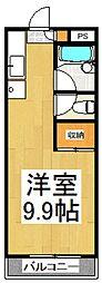 ストゥディオ本牧[2階]の間取り