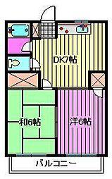 メゾンイチキ[3階]の間取り