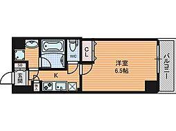 W-STYLE大阪天満宮[10階]の間取り