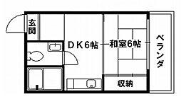 コーポアネモス[2階]の間取り