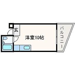 アンフィニィ・富田[205号室]の間取り