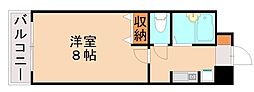 セルシオマンション[4階]の間取り