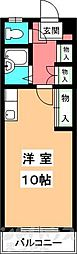 第2マンションふじ[505号室]の間取り