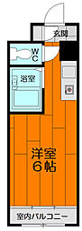 第5双洋ハイツ[207号室]の間取り