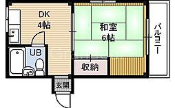 アキックスG4ビル[3階]の間取り