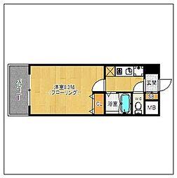 ルモールTJ[203号室]の間取り