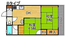 うららマンション[3階]の間取り