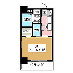 UNROOM[4階]の間取り