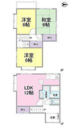 [一戸建] 静岡県静岡市駿河区八幡4丁目 の賃貸【/】の間取り