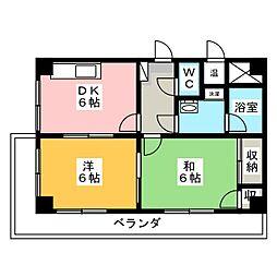 メゾンドベル1[2階]の外観