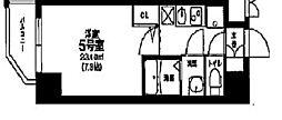 大阪府大阪市北区天神橋1丁目の賃貸マンションの間取り
