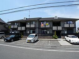 兵庫県高砂市米田町島の賃貸アパートの外観