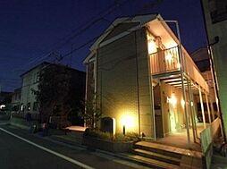 東京都江戸川区鹿骨2丁目の賃貸アパートの外観