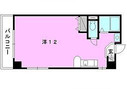 フルネス三浦[306 号室号室]の間取り