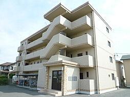 静岡県浜松市浜北区横須賀の賃貸マンションの外観