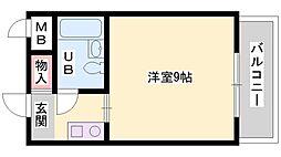 兵庫県加古郡播磨町南大中2丁目の賃貸アパートの間取り