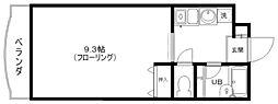 リビングVII[2階]の間取り