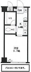 KS−DIO(リノベーション)[603号室号室]の間取り