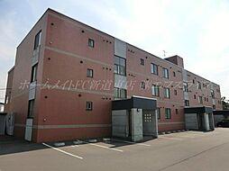 北海道札幌市東区伏古十条1丁目の賃貸マンションの外観