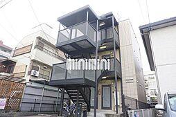 愛知県名古屋市千種区南明町2丁目の賃貸アパートの外観