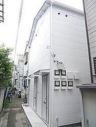 東京都葛飾区高砂2丁目の賃貸アパートの外観