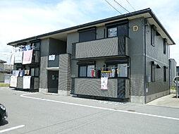 三重県鈴鹿市高岡町の賃貸アパートの外観