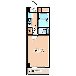 アセンズシティ2[4階]の間取り