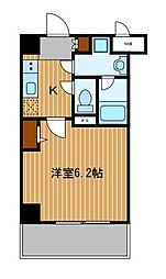 神奈川県横浜市鶴見区生麦3丁目の賃貸マンションの間取り
