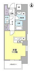 LIBRA TAKATSUKI[6階]の間取り
