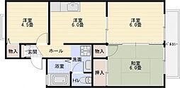スペースMHM B棟[1階]の間取り